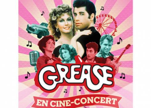 Grease en ciné-concert