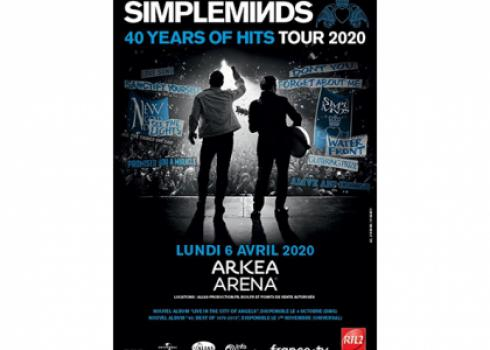 Affiche Simple Minds