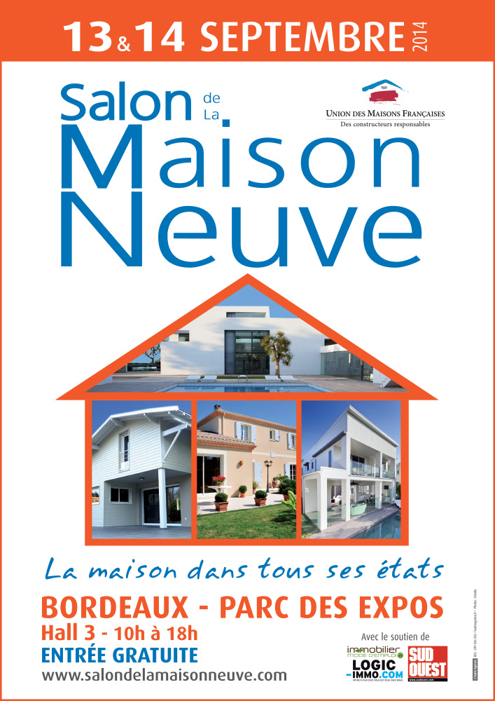 Salon de la maison neuve le 13 et 14 septembre ma ville for Salon de l immobilier bordeaux