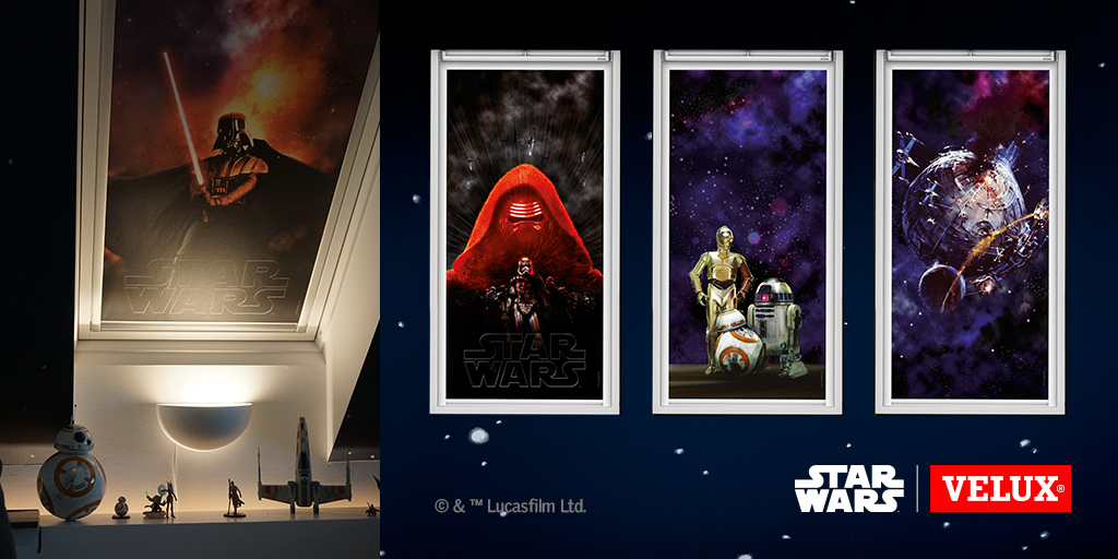 Star Wars velux