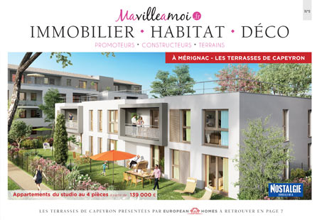 Sp cial habitat d co immobilier num ro 9 ma ville moi for Deco immobilier